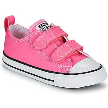 Shoes Girl Low top trainers Converse CHUCK TAYLOR ALL STAR 2V  OX Pink