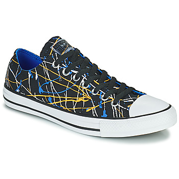 Shoes Men Low top trainers Converse CHUCK TAYLOR ALL STAR ARCHIVE PRINT - PAINT SPLATTER OX Black