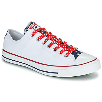 Shoes Men Low top trainers Converse CHUCK TAYLOR ALL STAR STARS & STRIPES OX White / Red / Blue