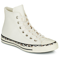 Shoes Women High top trainers Converse CHUCK TAYLOR ALL STAR ARCHIVE DETAILS HI White / Leopard