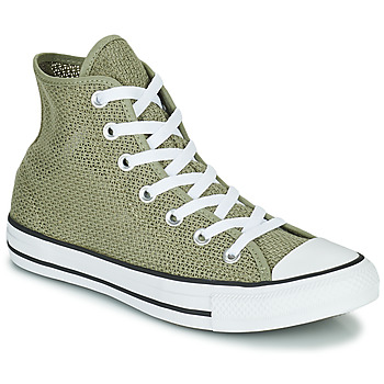 Shoes Women High top trainers Converse CHUCK TAYLOR ALL STAR BREATHABLE HI Kaki