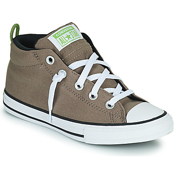 Shoes Children High top trainers Converse CHUCK TAYLOR ALL STAR STREET UTILITY LOOP MID Taupe