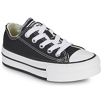 Shoes Girl Low top trainers Converse CHUCK TAYLOR ALL STAR EVA PLATFORM FOUNDATION OX Black