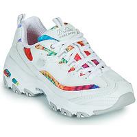 Shoes Women Low top trainers Skechers D'LITES SUMMER FIESTA White / Multicolour