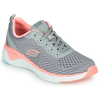 Shoes Women Fitness / Training Skechers SOLAR FUSE COSMIC VIEW Grey / Pink