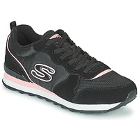 Shoes Women Low top trainers Skechers OG 85 Black / Pink