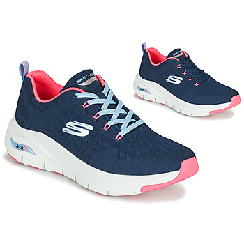 Shoes Women Low top trainers Skechers ARCH FIT Marine / Pink