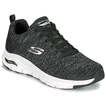 Shoes Men Low top trainers Skechers ARCH FIT Black
