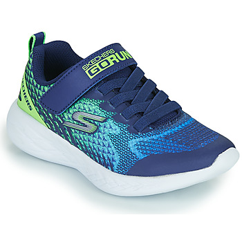 Shoes Boy Low top trainers Skechers GO RUN 600 Blue / Green