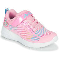 Shoes Girl Low top trainers Skechers BOBS SQUAD Pink