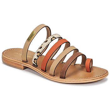Shoes Women Mules Les Tropéziennes par M Belarbi BRIQUET Multicolour / Orange