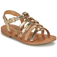 Shoes Girl Sandals Les Tropéziennes par M Belarbi MONGUE Gold