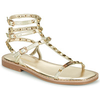 Shoes Women Sandals Les Tropéziennes par M Belarbi CORALIE Gold