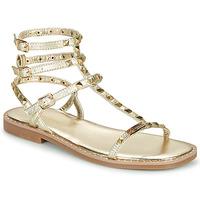 Shoes Women Sandals Les Tropéziennes par M Belarbi CORALIE Gold