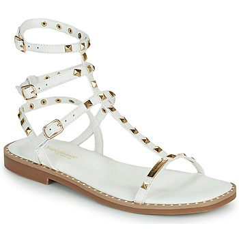 Shoes Women Sandals Les Tropéziennes par M Belarbi CORALIE White