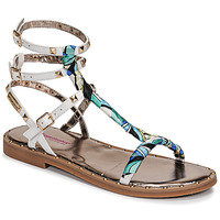 Shoes Women Sandals Les Tropéziennes par M Belarbi CALIX White / Blue