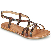 Shoes Women Sandals Les Tropéziennes par M Belarbi HELMET Brown / Python
