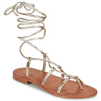 Shoes Women Sandals Les Tropéziennes par M Belarbi HELLEN Gold