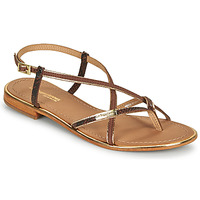 Shoes Women Sandals Les Tropéziennes par M Belarbi MONAGOLD Brown