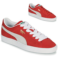 Shoes Low top trainers Puma SUEDE Red