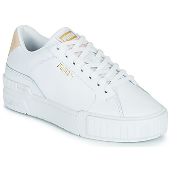 Shoes Women Low top trainers Puma CALI SPORT CLEAN White / Pink