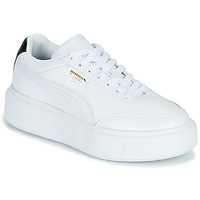 Shoes Women Low top trainers Puma CALI OSLO White / Black