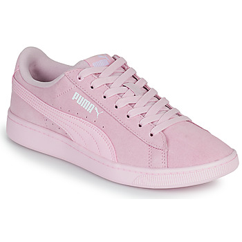 Shoes Women Low top trainers Puma VIKKY Pink
