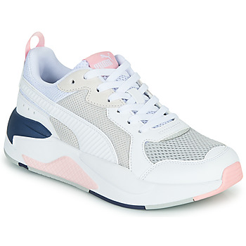 Shoes Women Low top trainers Puma XRAY White / Pink