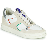Shoes Women Low top trainers Mam'Zelle ARTIX White / Multicolour