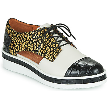 Shoes Women Derby shoes Mam'Zelle KIGALI White / Black