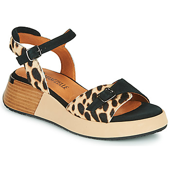 Shoes Women Sandals Mam'Zelle CANON Beige / Black
