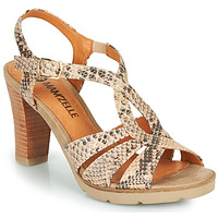 Shoes Women Sandals Mam'Zelle TIMBA Beige