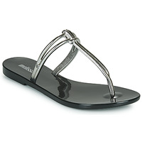 Shoes Women Mules Melissa ASTRAL CHROME AD Black