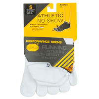 Accessorie Sports socks Vibram Fivefingers ATHLETIC NO SHOW White