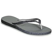 Shoes Women Flip flops Havaianas SLIM SPARKLE II Grey