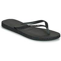 Shoes Women Flip flops Havaianas SLIM SPARKLE II Black