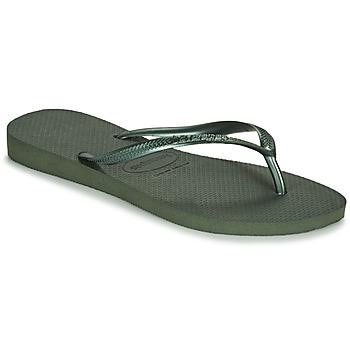 Shoes Women Flip flops Havaianas SLIM Green