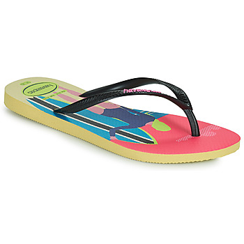 Shoes Women Flip flops Havaianas SLIM STYLE MIX Yellow