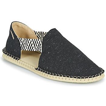 Shoes Women Espadrilles Havaianas ESPADRILLE FRESH ECO Black