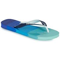 Shoes Flip flops Havaianas TOP LOGOMANIA MULTICOLOR Marine