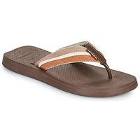 Shoes Men Flip flops Havaianas NEW URBAN WAY Black / Brown