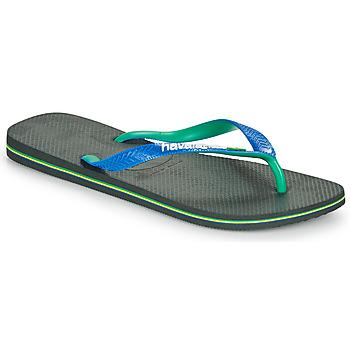 Shoes Men Flip flops Havaianas BRASIL MIX Black / Blue