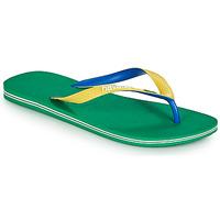 Shoes Men Flip flops Havaianas BRASIL MIX Green
