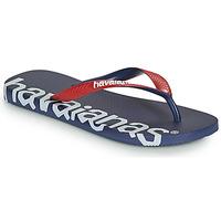 Shoes Flip flops Havaianas TOP LOGOMANIA HIGHTECH Blue
