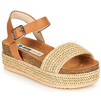 Shoes Women Sandals MTNG 58929 Beige