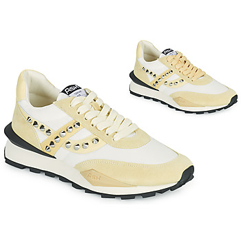Shoes Women Low top trainers Ash SPIDER STUDS White / Beige