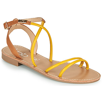 Shoes Women Sandals Les Petites Bombes EDEN Yellow