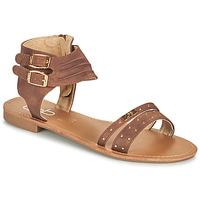 Shoes Women Sandals Les Petites Bombes BELIZE Brown