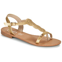 Shoes Women Sandals Les Petites Bombes BASSA Gold