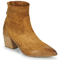 Shoes Women Ankle boots Moma OSTUNI Brown